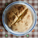 Panorama allemand de pain de levain Image libre de droits