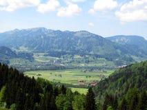 Panorama Allgäu Foto de Stock