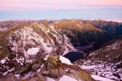 Panorama alpestre eslovaco Fotografía de archivo