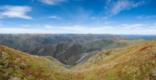 Panorama alpino fotografie stock libere da diritti