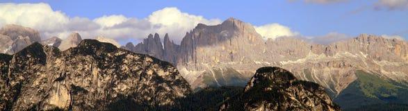 Panorama alpino Immagini Stock