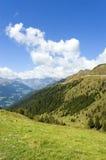 Panorama alpino Fotografia Stock