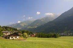 Panorama alpino en Austria, Imagenes de archivo