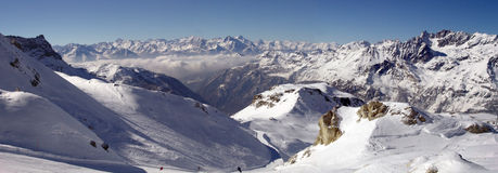 Panorama of  Alps, Italy Stock Image