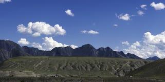Panorama Altai góry Zdjęcia Royalty Free