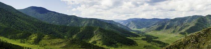 Panorama Altai góry Obrazy Royalty Free
