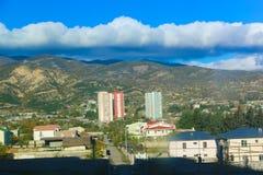 Panorama alter Stadt Tifliss Stockfotos