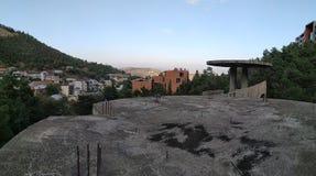 Panorama altes Tiflis lizenzfreie stockbilder