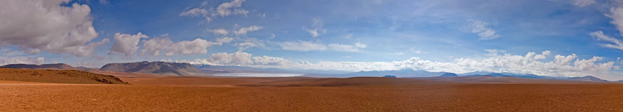 Panorama Altiplano Stock Photography