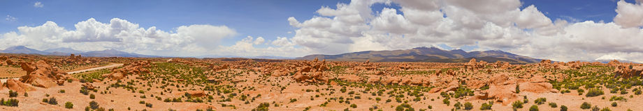 Panorama Altiplano Royalty Free Stock Photo