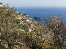 Panorama, Amalfi Coast, Italy Stock Photography