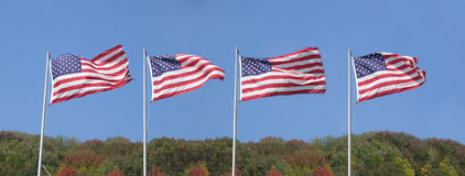 Panorama americano Fotografia Stock