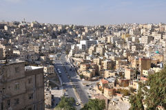 Panorama of Amman Royalty Free Stock Photos