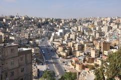 Panorama of Amman. Amman (capital of Jordan) viewed from the Citadel Royalty Free Stock Photos