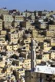 Panorama of Amman, Jordan`s capital. JORDAN, AMMAN - 12 JANUARY 2017: Panorama of Amman, Jordan`s capital: JANUARY 12, 2017 in Jordan. Amman stock photos