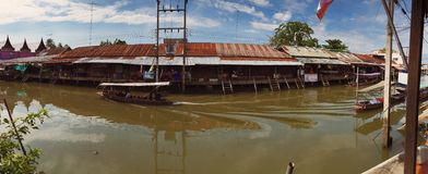 Panorama Amphawa Royalty Free Stock Images