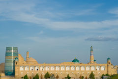 Panorama of an ancient city of Khiva Stock Photography