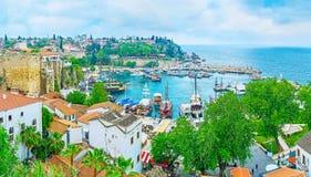 Panorama of Antalya Stock Photo