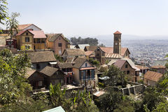 Panorama Antananariv fotografia stock