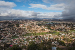 Panorama of Antananarivo city, Madagascar capital Stock Photography