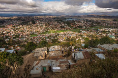 Panorama of Antananarivo city, Madagascar capital Stock Photos