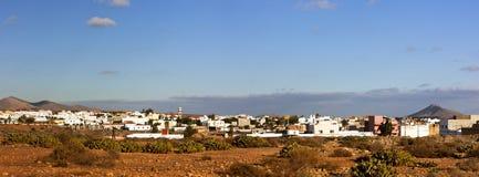 Panorama of Antigua, Fuerteventura Royalty Free Stock Image