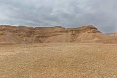 Panorama of Arava deser Royalty Free Stock Photography