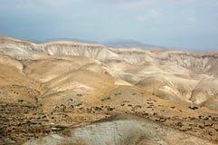 Panorama of Arava desert,Israel. Panorama of stone Arava desert,Israel Stock Photography