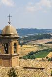 Panorama from Arcevia Royalty Free Stock Photos
