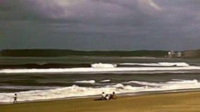 Panorama archivistique de plage de Durban clips vidéos