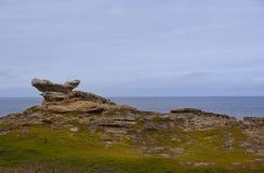 Panorama of the Arctic Coast Royalty Free Stock Photos