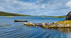 Panorama of Ardmore bay Royalty Free Stock Photo