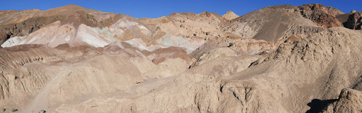 Panorama, Artists Palette, Death Valley Royalty Free Stock Image