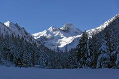 Panorama asombroso del pico de Malyovitsa, montaña de Rila Imagenes de archivo