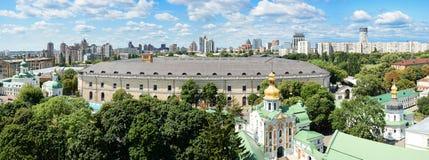 Panorama of  Assumption Church and Art arsenal Stock Photo