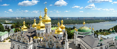 Panorama of Assumption Church Stock Photography