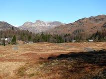 Panorama au secteur de lac, Cumbria, Angleterre R-U Images stock