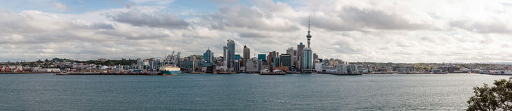 Panorama of Auckland Stock Photos