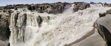 Panorama of the Augrabies Waterfall Royalty Free Stock Photography