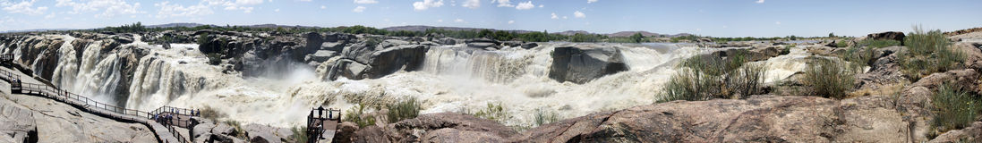 Panorama of the Augrabies Waterfall Stock Photo