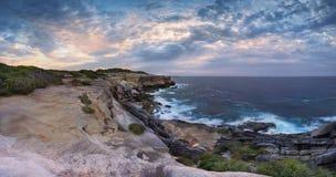 Panorama Austrália de Solander do cabo Fotografia de Stock Royalty Free