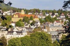 Panorama av Baden Baden Arkivfoton