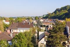 Panorama av Baden-Baden Royaltyfri Bild