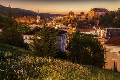 Panorama av Baden-Baden Royaltyfria Foton