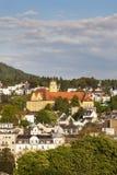 Panorama av Baden-Baden Fotografering för Bildbyråer