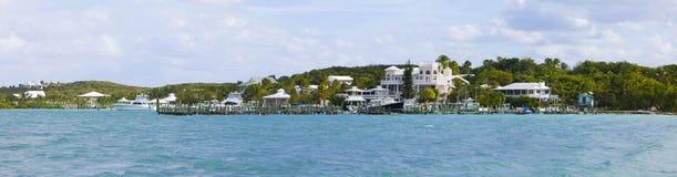 Panorama av Bahamas Fotografering för Bildbyråer