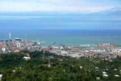Panorama av Batumi Royaltyfria Bilder