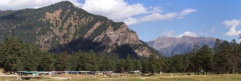 Panorama av bergen Royaltyfri Fotografi