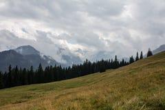 Panorama av berget Fotografering för Bildbyråer