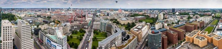 Panorama av Berlin Royaltyfria Bilder
